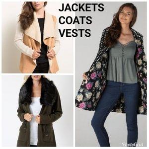 Jackets & Coats - JACKETS COATS VESTS Womens Juniors